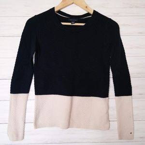 Tommy Hilfiger | Navy Colorblock Knit Sweater